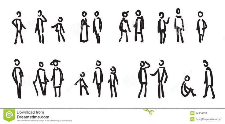 outline figures architect render - google search | handrawn icons