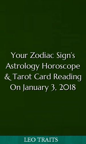 aquarius horoscope january 3