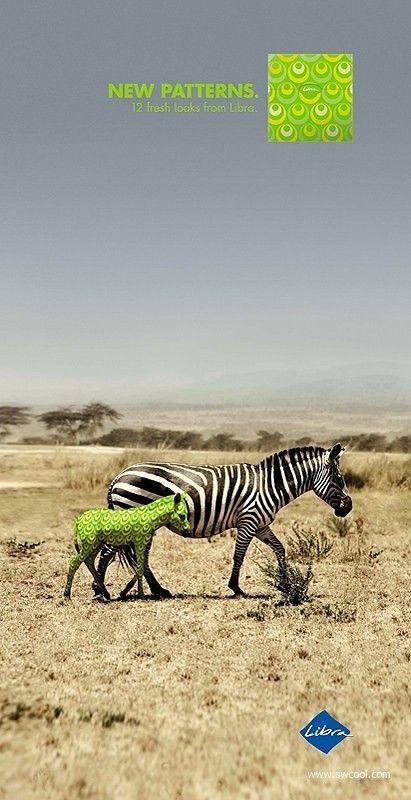 ♂ Creative advertising design - New pattern #advertising #animal