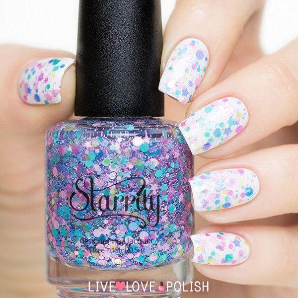 Starrily Bippity Boppity Blue Nail Polish
