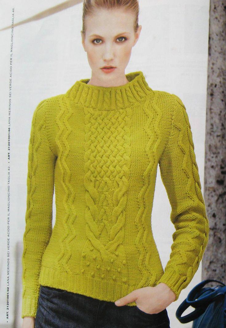 Mani di Fata (Italian knitting/crochet magazine) - Jan 2012