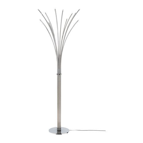 Hovn 196 S Floor Lamp Ikea A Built In Touch Dimmer Means That