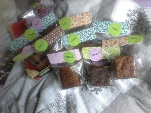 Brownies pour une vente de l'école de la miss