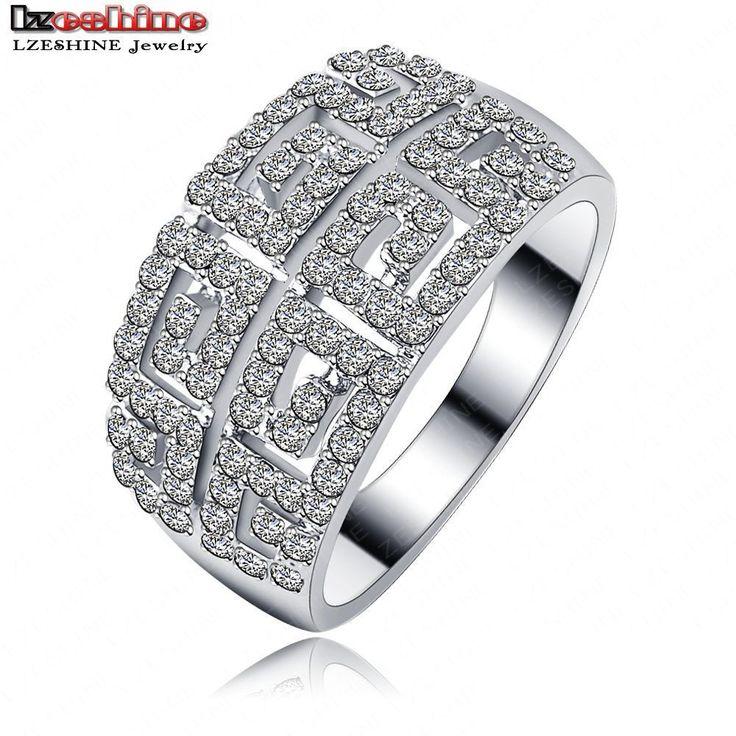 Купить Lzeshine марка модный широкие кольца пальца для мужчин настоящее…