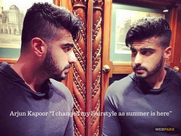 Arjun Kapoor I Changed My Hairstyle As Summer Is Here Bollywood Actors Arjun Kapoor India Actor