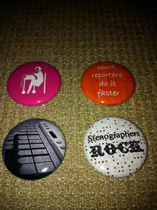 Set of four court reporting magnets Esty.com. Expected arrival beginning of December. LOVE