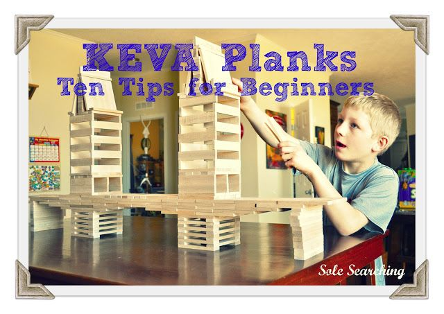 Sole Searching Mama: Keva Planks ~ 10 Tips for Beginners