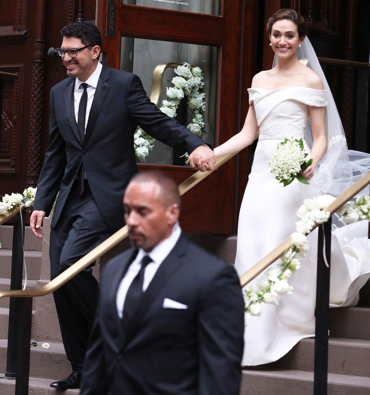 Emmy Rossum Wedding: 25+ Best Ideas About Celebrity Wedding Dresses On