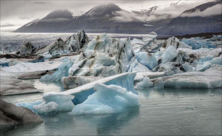 Jökulsárlón is considered one of Iceland's natural wonders, and it keeps growing.