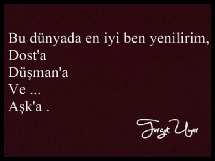 Turgut Uyar #şiir