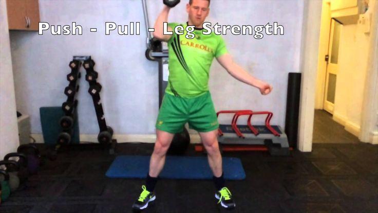 Functional Training Ireland Gym Program example ---