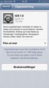 iOS 7 er her offisielt ute – Hvordan får du det? http://problogger.no/2013/09/18/ios-7-er-her-offisielt-ute-hvordan-far-du-det/ #ios #ios7 #apple #iphone #release #lansert #oppdater #installer