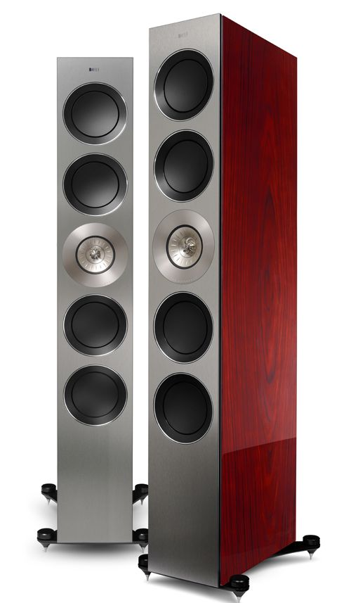 KEF unveils new 'baby' Blades, Reference series and upgraded Muon speakers  at High End Show
