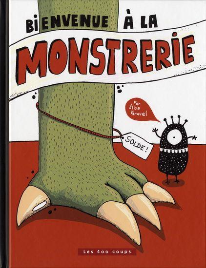Après l'immense succès de J'élève mon monstre publié en 2003, Élise Gravel nous revient avec tout le mordant qu'on lui connaît. Vous entrerez ici dans la grande Monstrerie où vous y découvrirez les nouveaux monstres à la mode, les accessoires qui leurs conviennent, les monstres en solde et les dernières découvertes qui feront rougir de jalousie tous les propriétaires de monstres. Le meilleur endroit pour trouver le monstre idéal ou pour lui offrir un accessoire digne de sa superbe beauté ?…