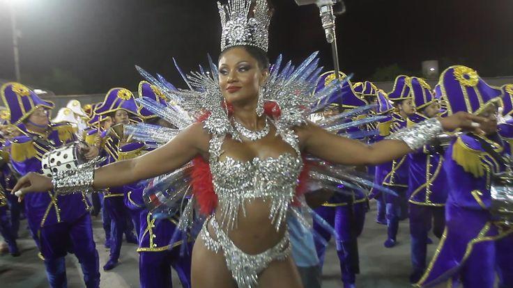 """""""Minha escola é do povo"""", diz rainha da Vai-Vai . --   Ajoutée le 6 févr. 2016 Rainha de Bateria da escola do Bixiga, Camila Silva, mostra rebolado e encanta na avenida"""
