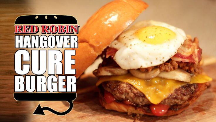 THE HANGOVER CURE Burger Recipe Remake from Red Robin  |  HellthyJunkFood