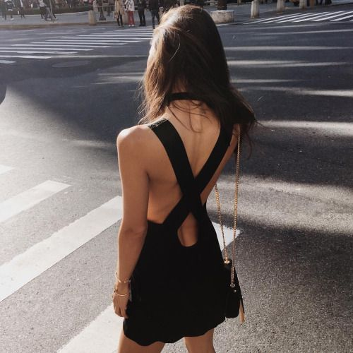 rumineely:One of my absolute favorites �� the Mala ✖️ back dress...