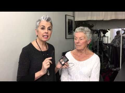 A roundup of video tutorials with best makeup tips for older women.