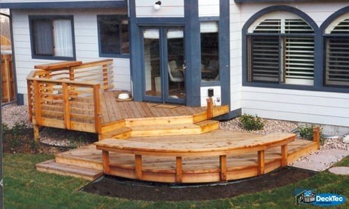 Small But Functional Deck Dream Home Pinterest