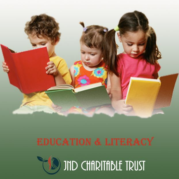 JND Charitable Trust welcomes your child for education & Literacy program; we will identify the way in which student can improve their skill of learning and study by use of appropriate resources.