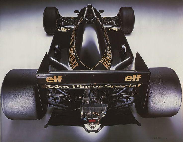 Lotus 98T Formula One race car