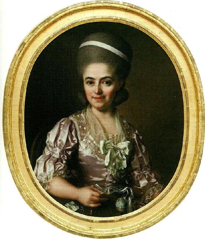 Ulrika Fredrika Pasch: Lovisa Sofia af Geijerstam, 1780s.