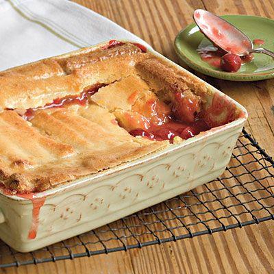 Too-Easy Cherry Cobbler | Desserts | Pinterest