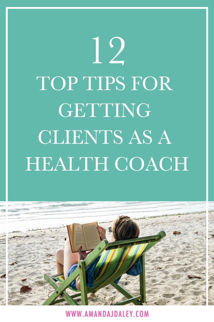 12 Top Tips For Getting Clients As A Health Coach Amanda Jane