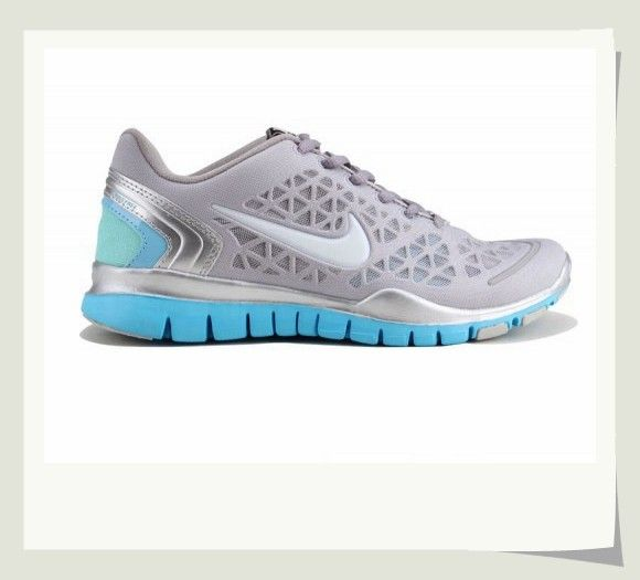 Women's Nike Free TR Fit 2 Running Shoes Wolf Grey/Silver/White/Azure Blue. All are free shipping now.