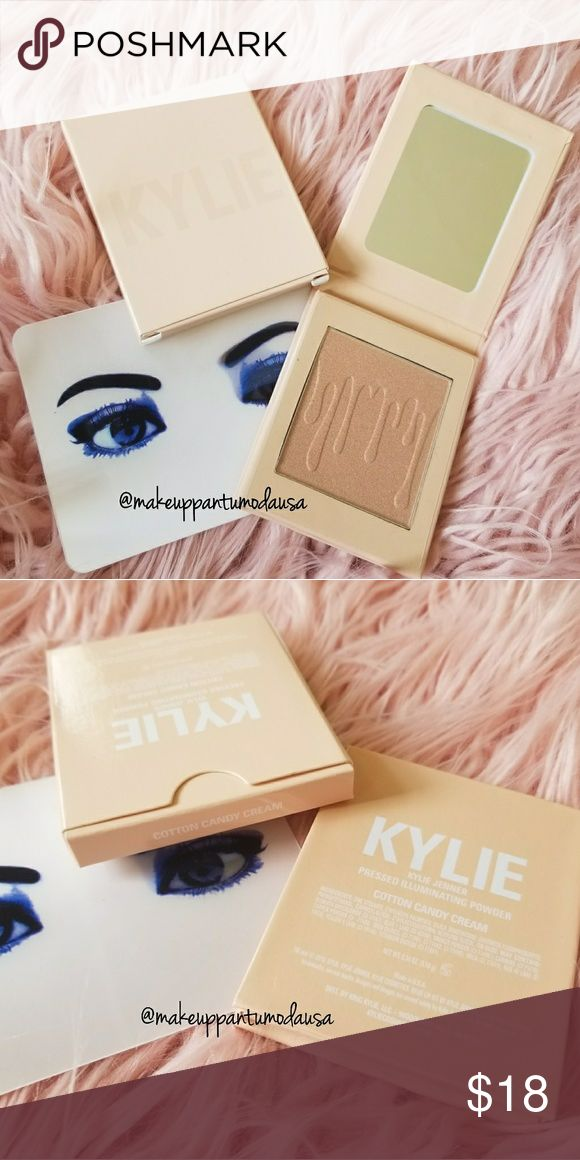 KYLIGHTER KYLIE JENNER COTTON CANDY CREAM - PRICE IS FIRM, USPS SHIPPING AND BUBBLE WRAPPED  - NO RECEIPT AVAILABLE ✔NEW  ✔NEVER USED ✔FREE SHIPPING ✔WE GIVE YOU A KYLIE JENNER MINI LIPS Kylie Cosmetics Makeup Bronzer