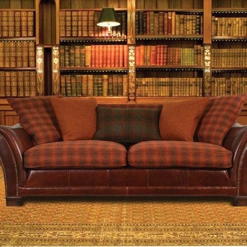 Carloway sofa by Tetrad. Harris tweed, love it!!!