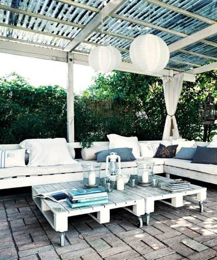 17 best images about covered porch on pinterest stage for Covered deck furniture