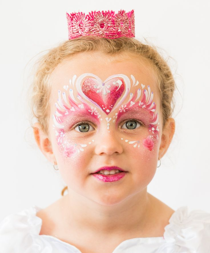 Check it out! Beautiful face painting by Brisbane face painter, Fairy Sparkles Face Painting!