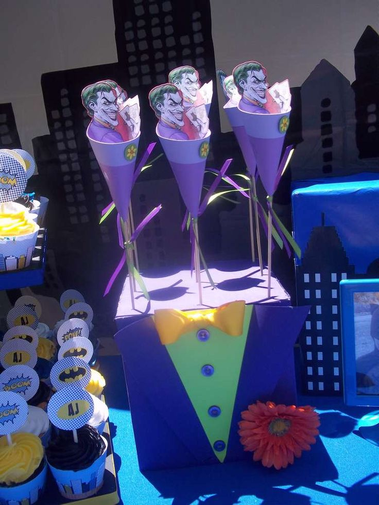 Batman Joker Birthday Party Ideas Batman Party Lego