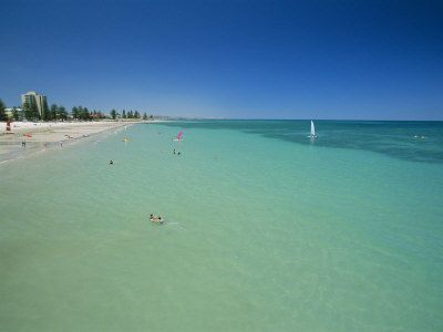#Adelaide, blue sea