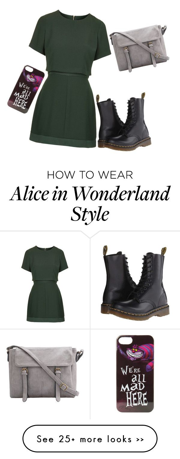 """""""Untitled #478"""" by dreamkm on Polyvore featuring Topshop, Dr. Martens and Disney"""