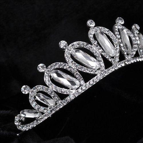 Свадебная тиара горный хрусталь кристалл волос корона старинные свадебные глава ювелирные изделия свадебные аксессуары ювелирные изделия лоб повязки повязку