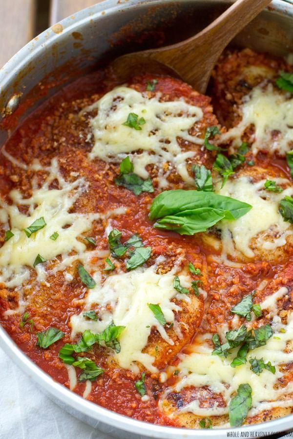 One-skillet 30-minute Chicken Parmesan