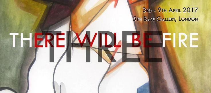 GROUP EXHIBITION - THREE  3rd - 9th April 2017, 5th Base Gallery, 25 Heneage Street, London, E1 5LJ, UK  Aleksandar Bašić, Luke Branca, Lisa Sharma  Monday 12- 6pm Tuesday - Sunday 10am - 6pm PV Thursday 6th April, 6pm - 9pm   Three, an exhibition of new works by London-based artist-educators Aleksandar Bašić, Luke Branca and Lisa Sharma. #three #therewillbefire #5thbase #alexbasic #aleksandarbasic #lukebranca #lisasharma #april2017