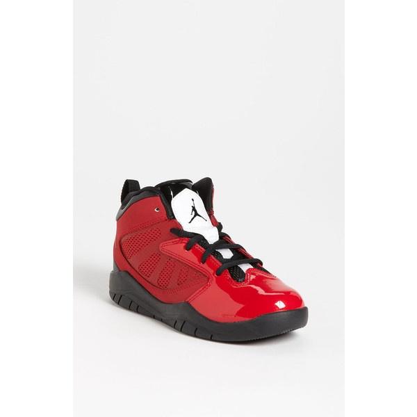 Nike \u0027Jordan Flight Team 11\u0027 Basketball Shoe (Toddler \u0026 Little Kid)...  ($60) ? liked on Polyvore | my polyvore creations | Pinterest