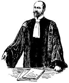 Wikipedia-artikkeli asianajajasta (Ranskalainen asianajaja 1920-luvulla)