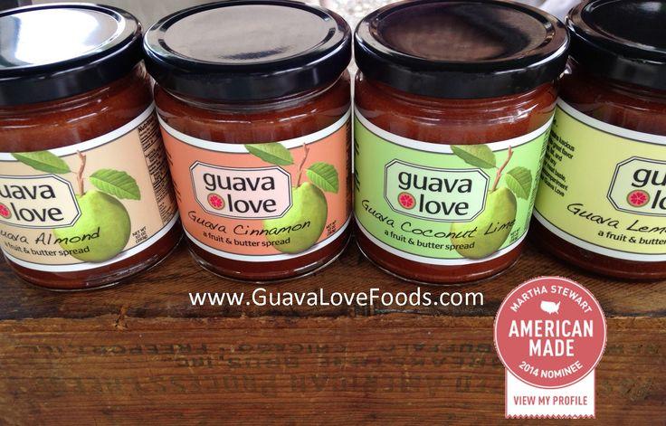 CAROLINE STARNES   GUAVE LOVE FOODS http://www.guavalovefoods.com/