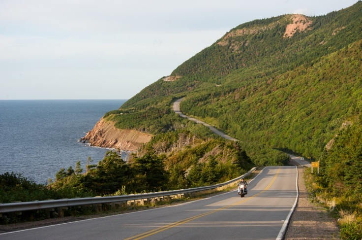 Fire up your bike and hit the Cabot Trail.