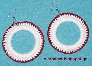 e-crochet: Κοσμήματα με βελονάκι