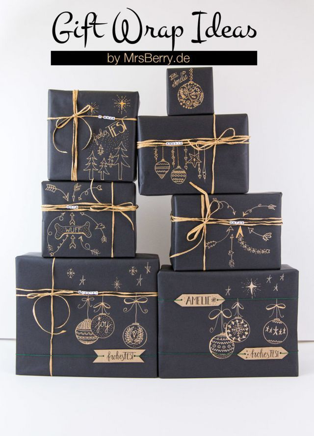 Ideen: Geschenke einpacken