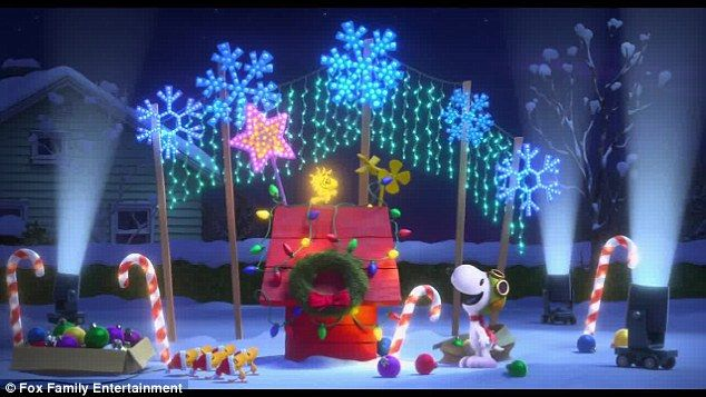 Christmas themes: Like the first TV movie, A Charlie Brown Christmas, The Peanuts Movie ma...