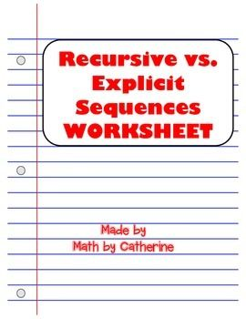 arithmetic sequence worksheets 8th grade real world math activities1000 ideas about. Black Bedroom Furniture Sets. Home Design Ideas