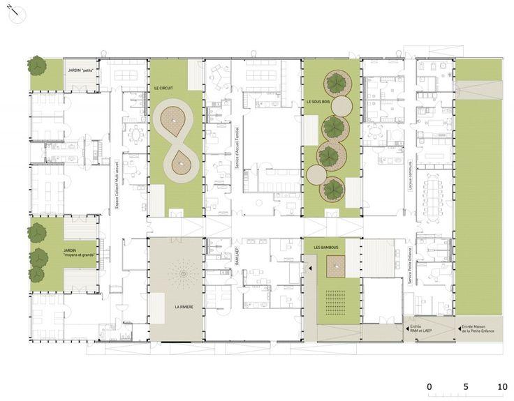 Marvelous Epinay Nursery School / BP Architectures Idea