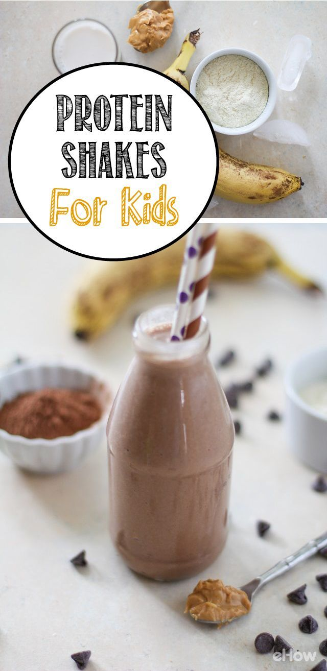 Kids not getting enough protein in their diets? Disguise it with this tasty, kid-approved protein shake! They'll love it, ask for it and still get the protein and energy they need to grow strong. Recipe here: http://www.ehow.com/how_4809474_homemade-protein-shakes-kids.html?utm_source=pinterest.com&utm_medium=referral&utm_content=freestyle&utm_campaign=fanpage