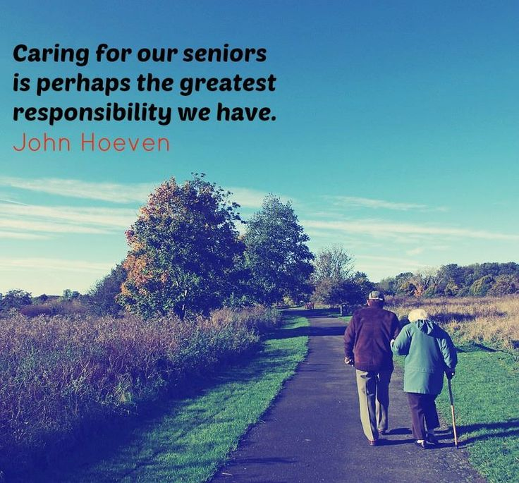 """""""Caring for our seniors is perhaps the greatest responsibility we have."""" - John Hoeven"""